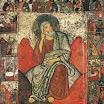 Илья Пророк в пустыне с житием и деисусом. Вторая половина XIII века. ГТГ.jpg